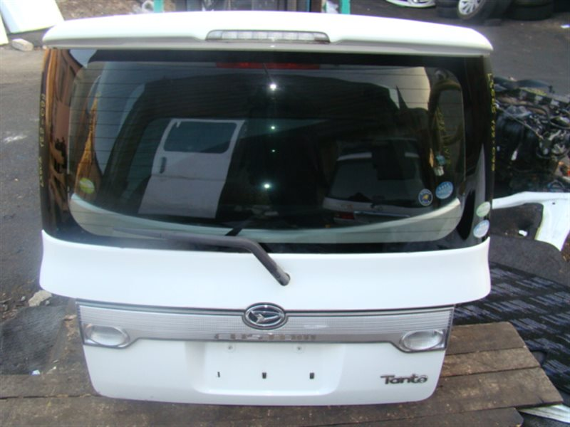 Дверь 5-я Daihatsu Tanto L350S задняя (б/у)