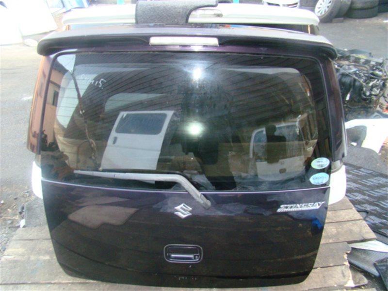 Дверь 5-я Suzuki Wagon R MH22S задняя (б/у)
