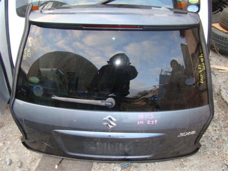 Дверь 5-я Suzuki Sx4 YB11S M15A задняя (б/у)