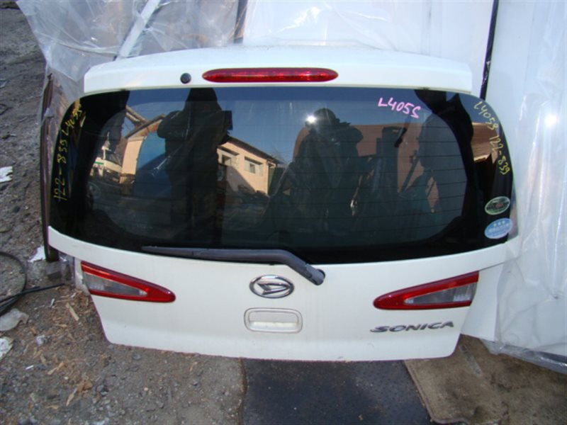 Дверь 5-я Daihatsu Sonica L405S задняя (б/у)