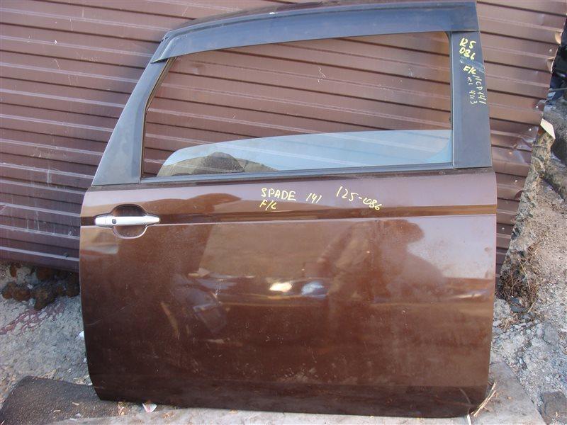 Дверь Toyota Spade NCP141 передняя левая (б/у)