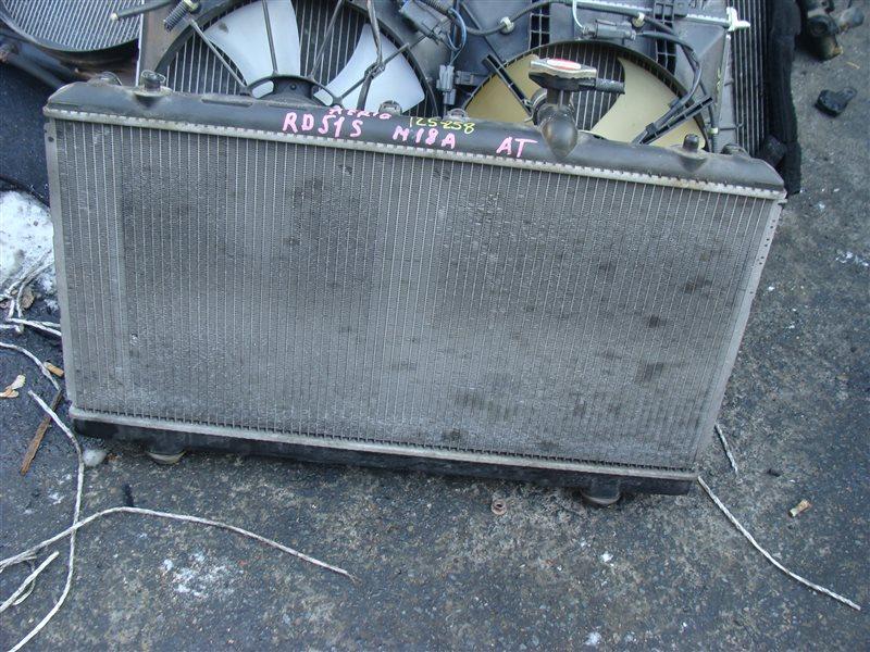 Радиатор охлаждения Suzuki Aerio RD51S M18A (б/у)