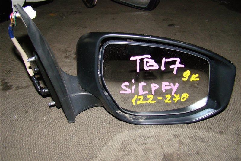 Зеркало Nissan Sylphy TB17 переднее правое (б/у)