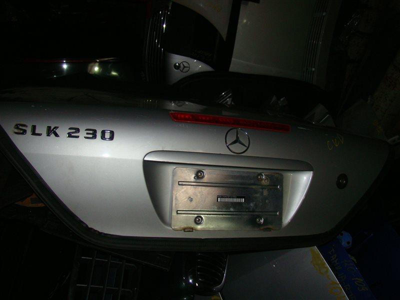 Крышка багажника Mercedes-Benz Slk230 R170 M111 (б/у)