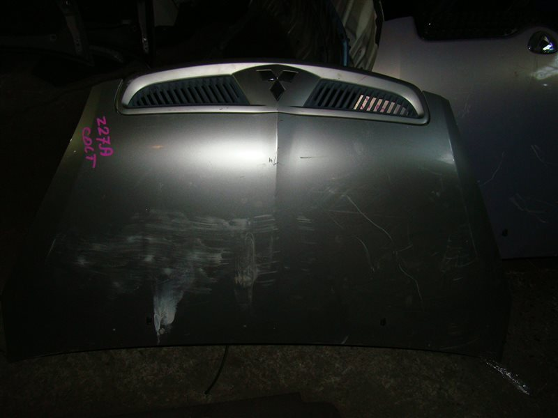 Капот Mitsubishi Colt Z27A передний (б/у)