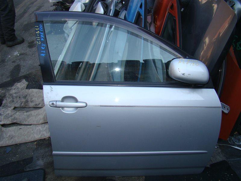 Дверь Toyota Allex NZE121 1NZFE передняя правая (б/у)