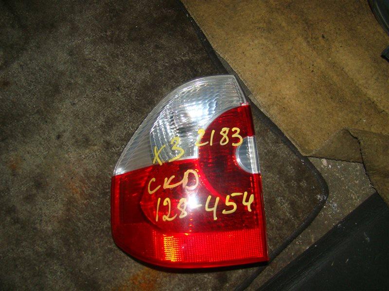 Стоп-сигнал Bmw X3 E83 задний левый (б/у)