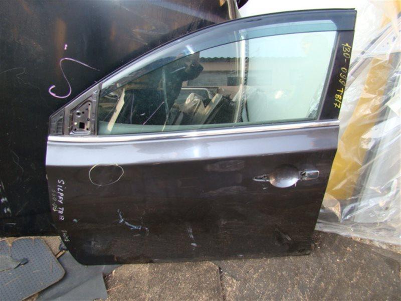 Дверь Nissan Sylphy TB17 передняя левая (б/у)