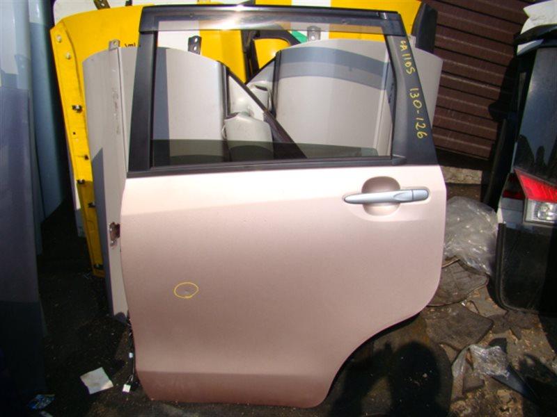 Дверь Daihatsu Move LA100S задняя левая (б/у)