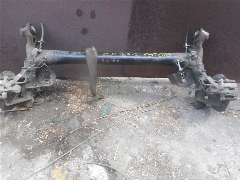 Балка со ступицами Suzuki Swift ZC32S M16A задняя (б/у)
