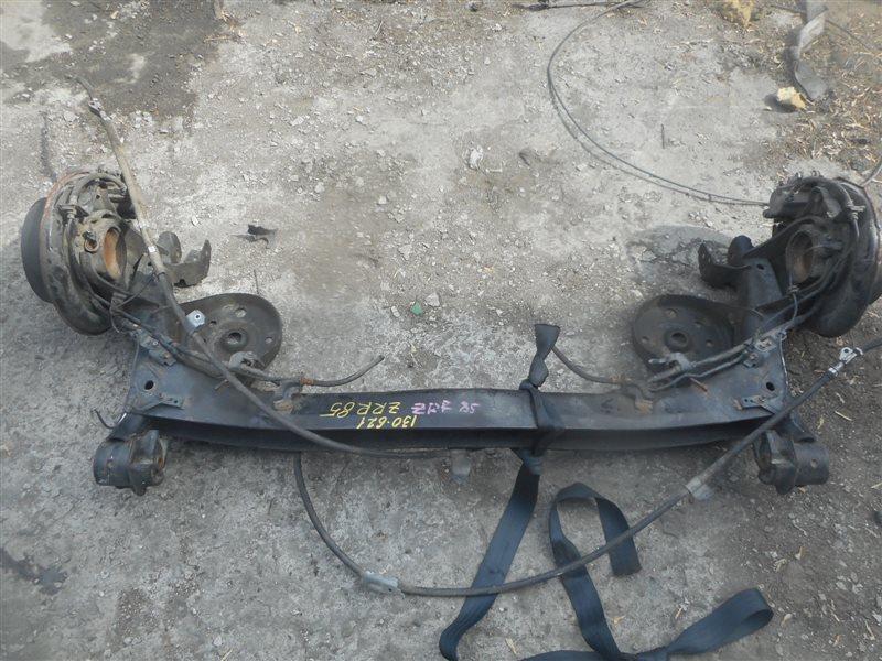Балка со ступицами Toyota Noah ZRR85 3ZR-FAE задняя (б/у)