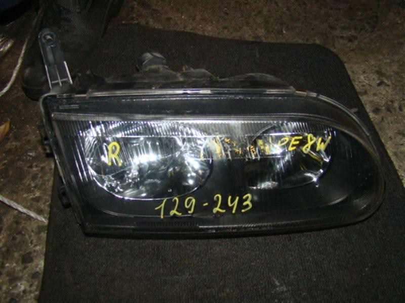 Фара Mitsubishi Delica PE8W передняя правая (б/у)