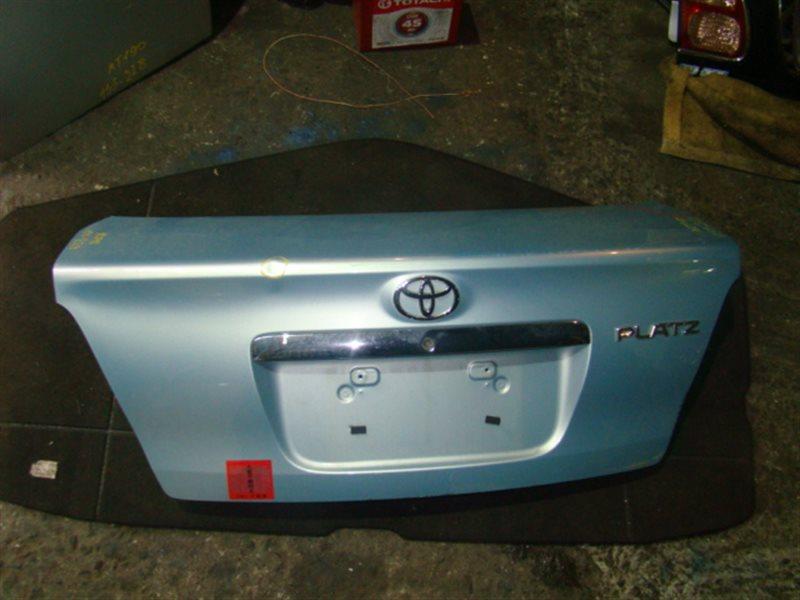 Крышка багажника Toyota Platz NCP12 (б/у)