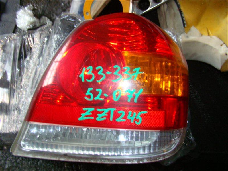 Стоп-сигнал Toyota Platz SCP11 задний правый (б/у)