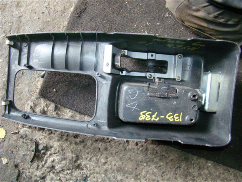 Консоль между сидений Mitsubishi Pajero Io H76W (б/у)