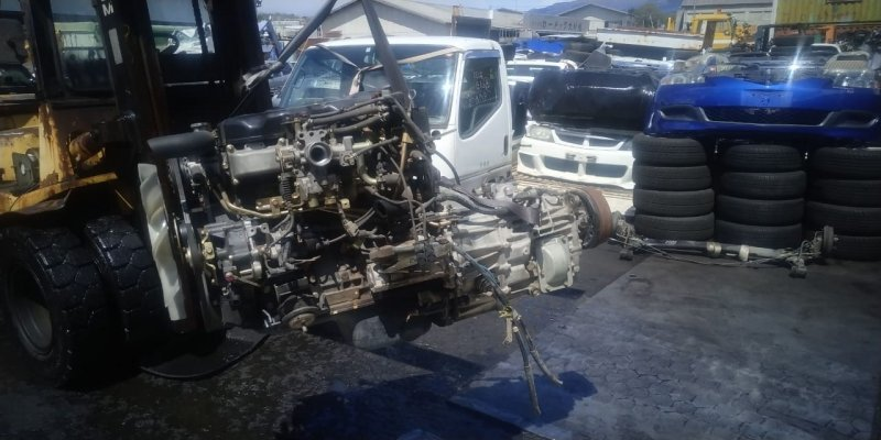 Мкпп Mitsubishi Canter FE63CEV 4D34 2001 (б/у)