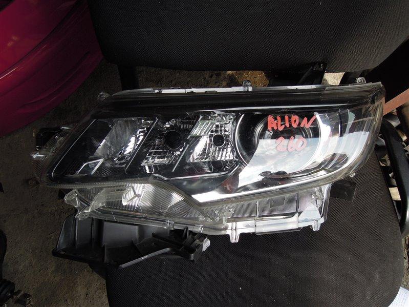 Фара Toyota Allion ZRT260 передняя левая (б/у)