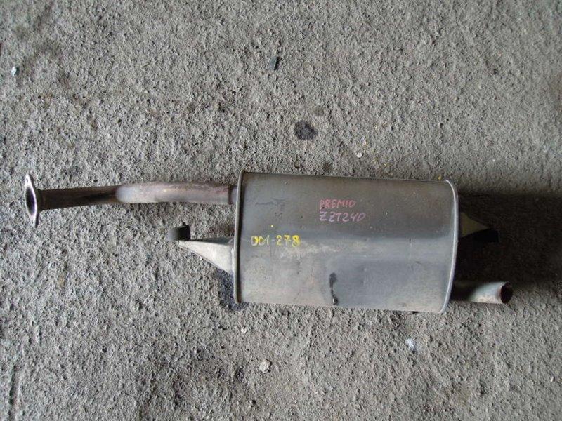 Бочка глушителя Toyota Premio ZZT240 1ZZ (б/у)