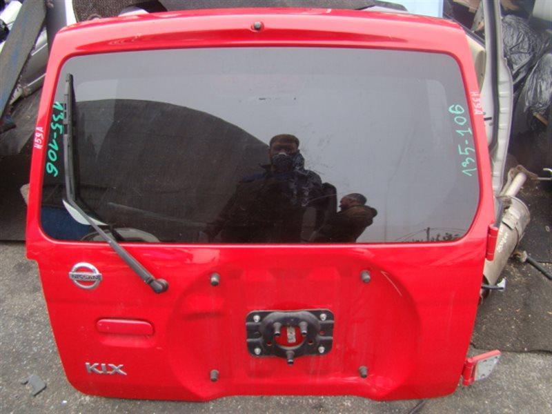Дверь 5-я Nissan Kix H59A задняя (б/у)
