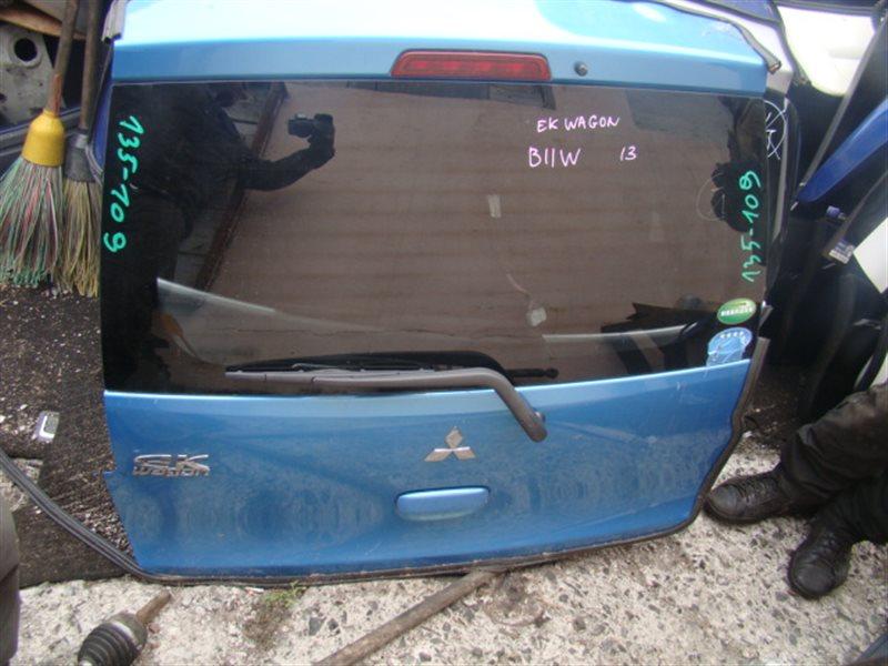 Дверь 5-я Mitsubishi Ek Wagon B11W задняя (б/у)