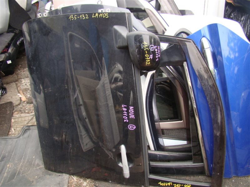 Дверь Daihatsu Move LA110S передняя левая (б/у)