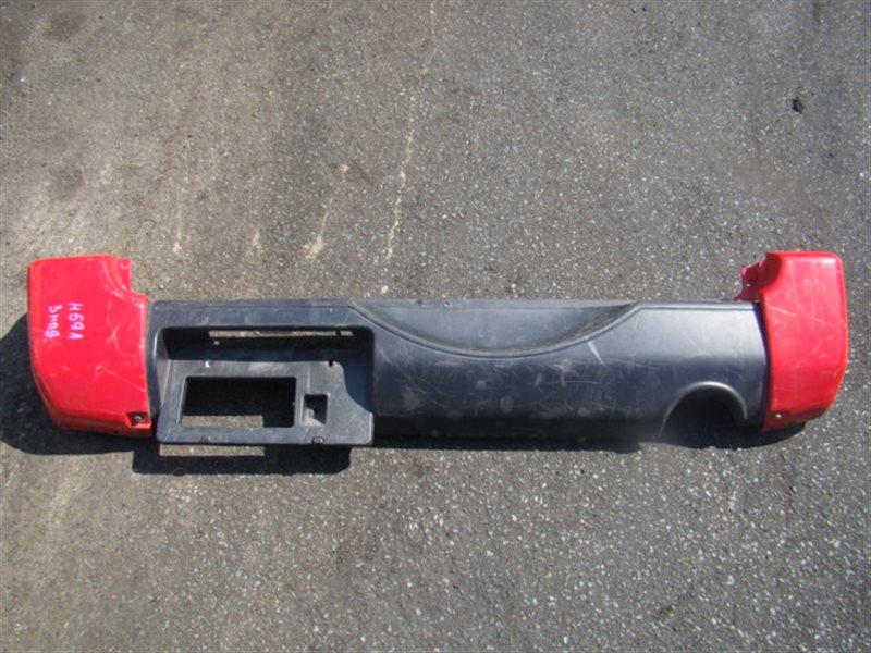 Бампер Nissan Kix H59A задний (б/у)