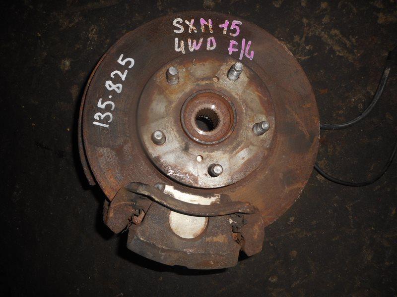 Ступица Toyota Gaia SXM15 3SFE передняя левая (б/у)