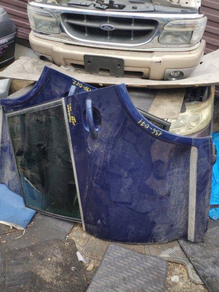 Дверь Volkswagen Touareg 7LA задняя левая (б/у)