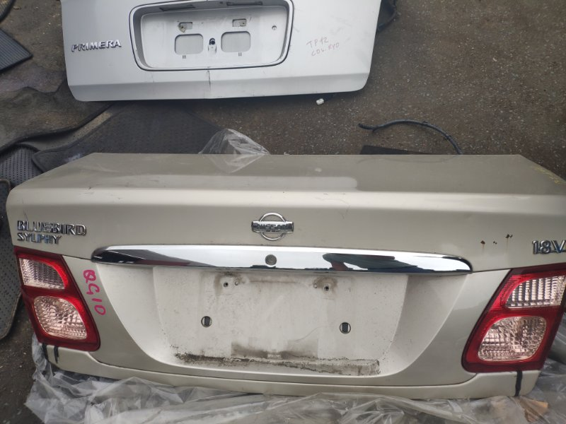 Крышка багажника Nissan Bluebird Sylphy QG10 FG10 QG18 (б/у)