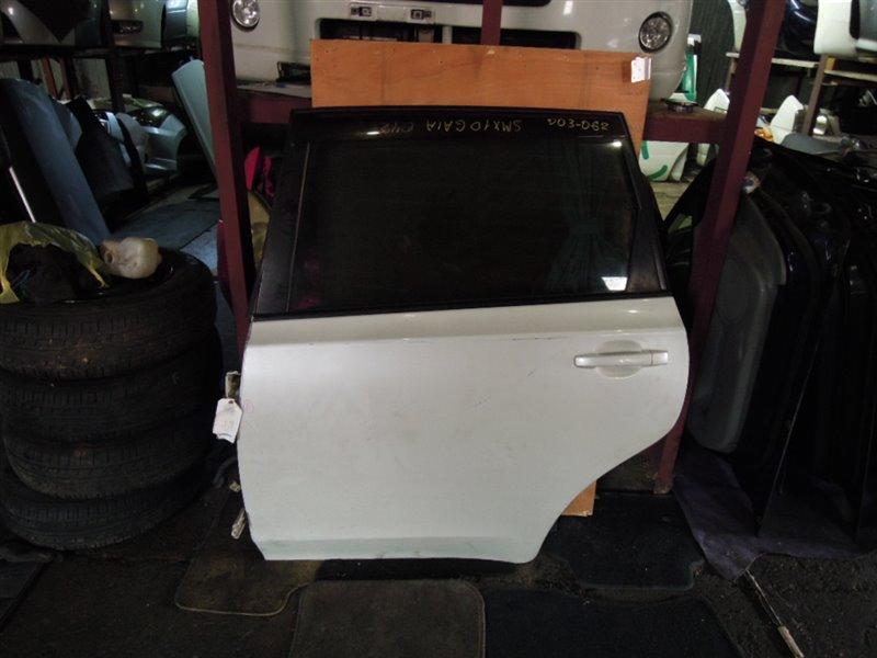 Дверь Subaru Exiga YA5 задняя левая (б/у)