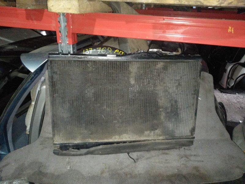 Радиатор охлаждения Toyota Cresta JZX90 1JZ (б/у)