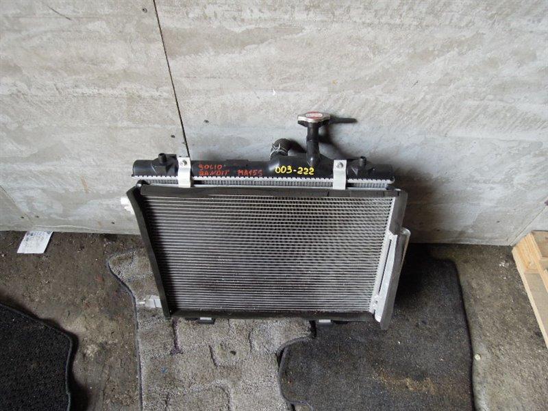 Радиатор охлаждения Suzuki Solio MA15S K12B (б/у)