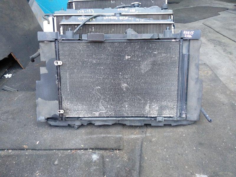 Радиатор охлаждения Toyota Mark X Zio ANA15 2AZ-FE (б/у)