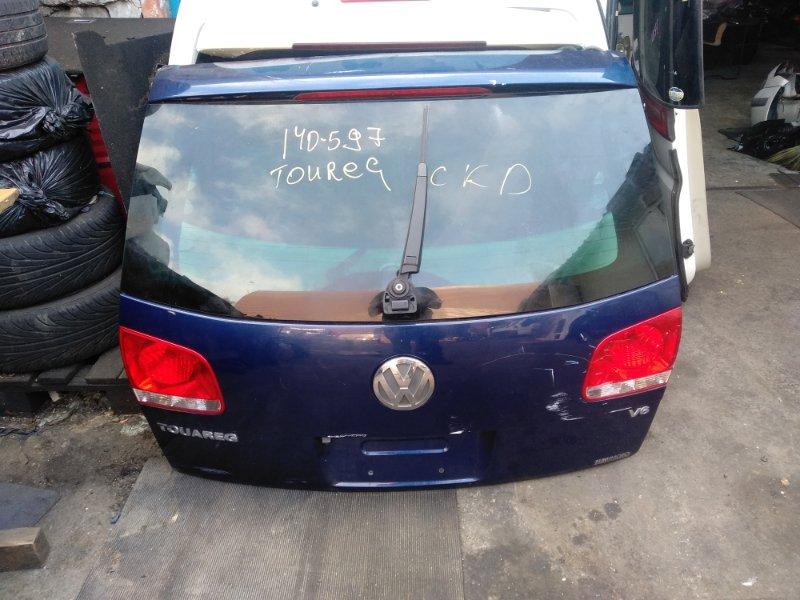 Дверь 5-я Volkswagen Touareg 7L AZZ задняя (б/у)