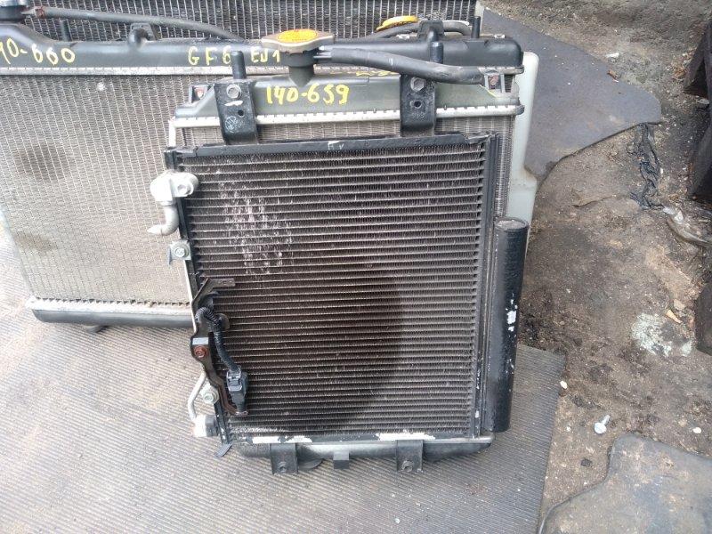 Радиатор охлаждения Daihatsu Move Latte L560S EF-VE (б/у)
