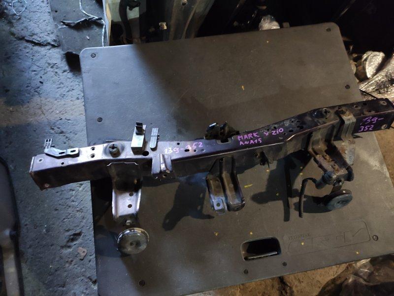 Планка телевизора Toyota Mark X Zio ANA15 передняя верхняя (б/у)