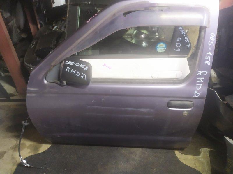 Дверь Nissan Datsun RMD22 передняя левая (б/у)