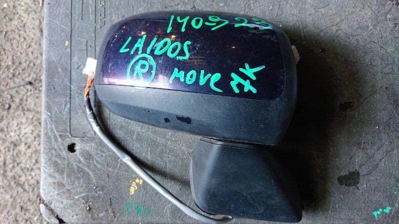Зеркало Daihatsu Move LA100S переднее правое (б/у)