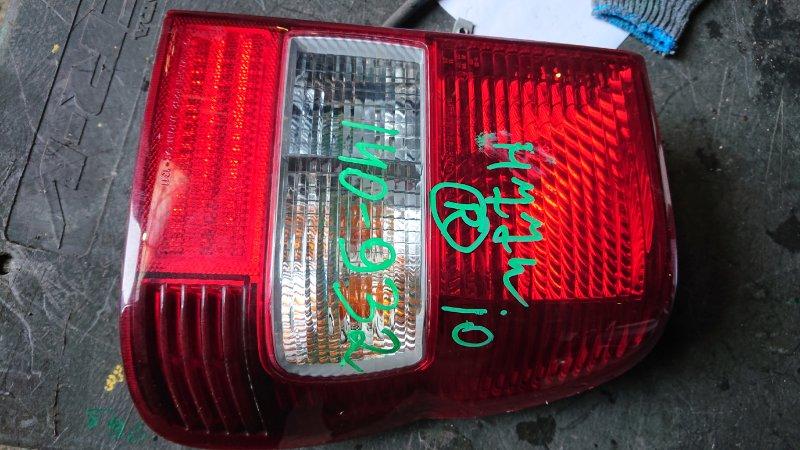 Стоп-сигнал Mitsubishi Pajero Io H77W задний правый (б/у)
