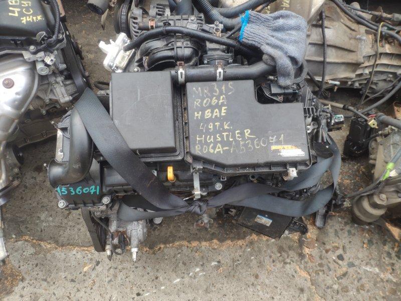 Двигатель Suzuki Hustler MR31S R06A (б/у)