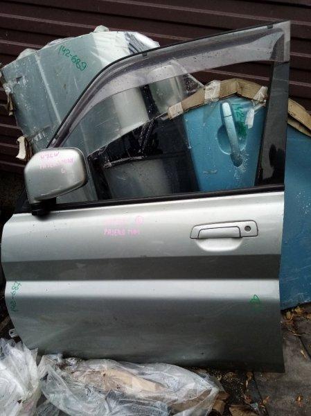Дверь Mitsubishi Pajero Io H76W передняя левая (б/у)