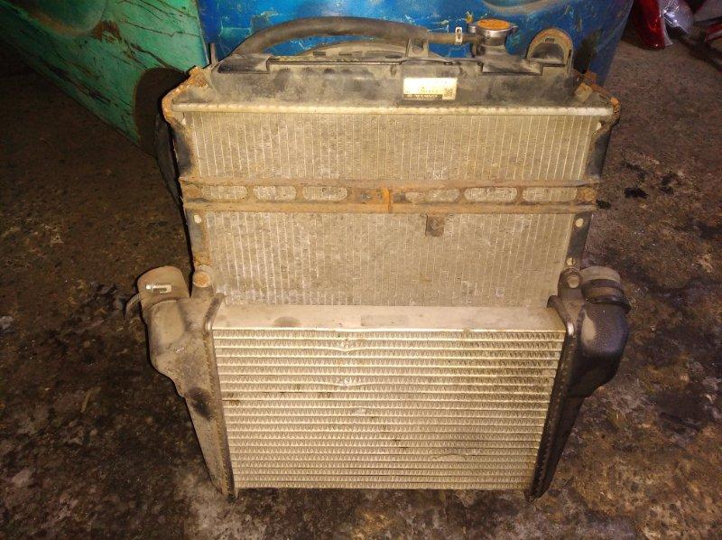 Радиатор охлаждения Nissan Atlas APR85 4JJ1T (б/у)