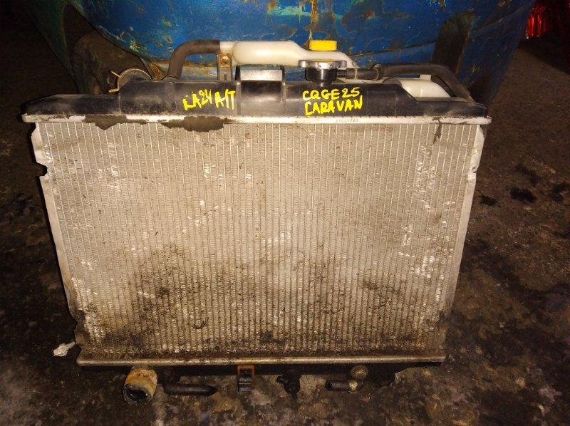Радиатор охлаждения Nissan Caravan CQGE25 KA24 (б/у)