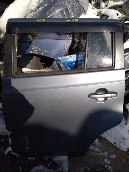 Дверь Toyota Bb QNC21 задняя левая (б/у)
