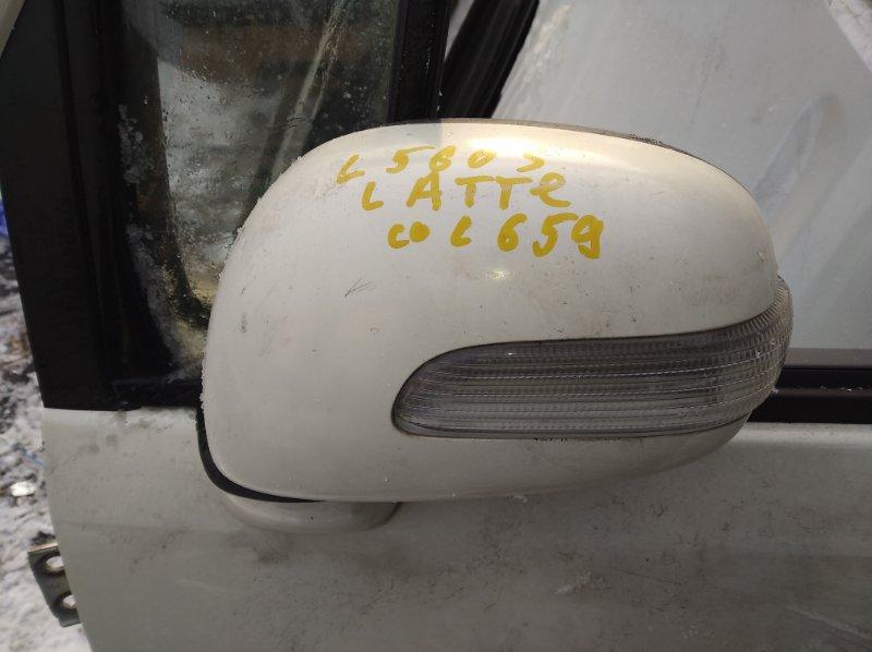 Зеркало Daihatsu Move Latte L560S переднее левое (б/у)