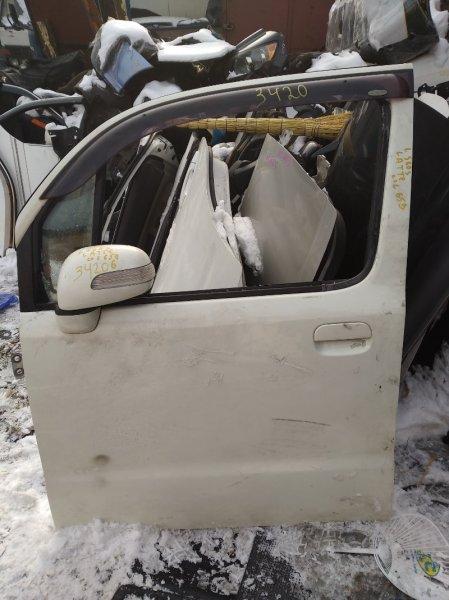 Дверь Daihatsu Move Latte L560S передняя левая (б/у)
