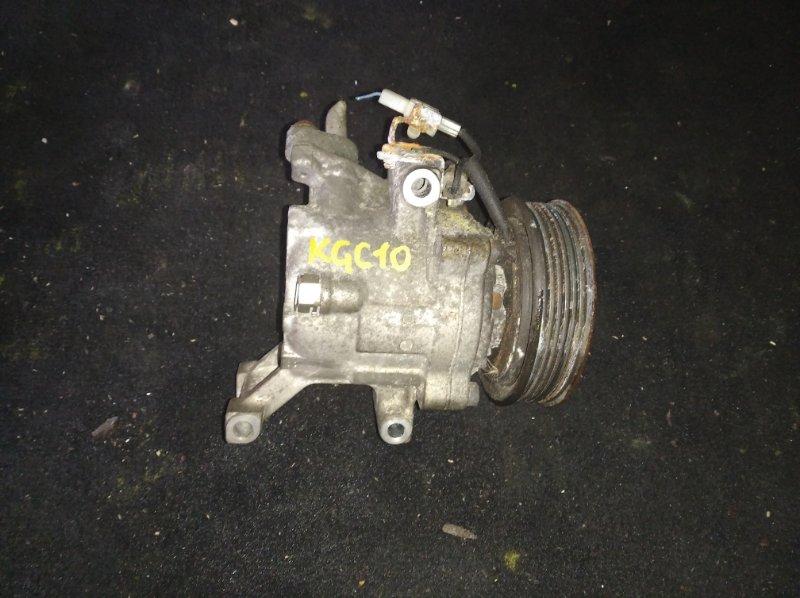 Компрессор кондиционера Toyota Passo KGC10 1KR (б/у)