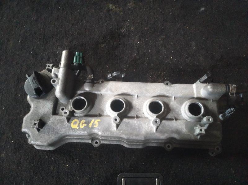 Клапанная крышка Nissan Sunny B15 QG15 (б/у)