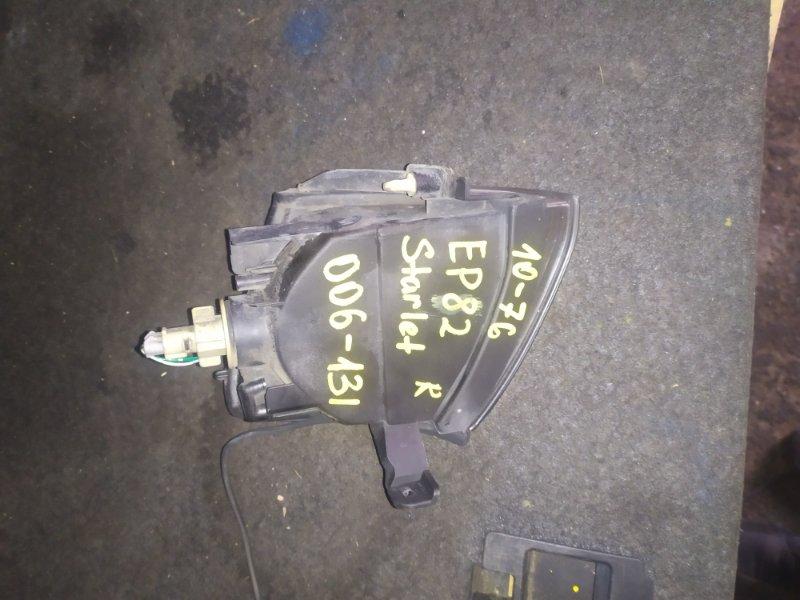 Габарит Toyota Starlet EP82 передний правый (б/у)
