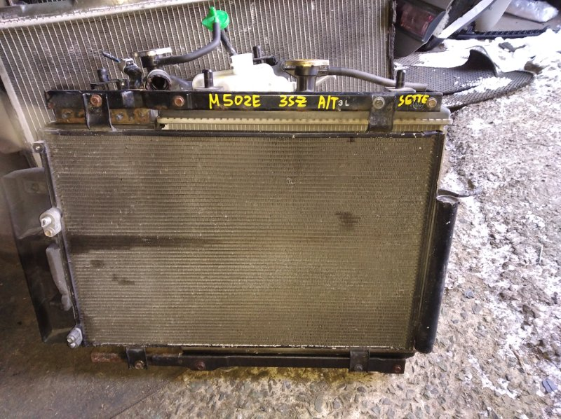 Радиатор охлаждения Toyota Passo Sette M502E 3SZ (б/у)